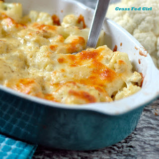 Low Carb Cauliflower Macaroni and Cheese