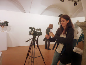 Photo: la giovane giornalista Marta....