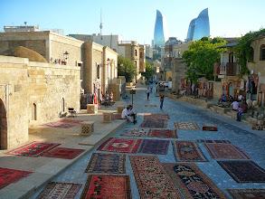 Photo: Bakui szőnyegek, Szőnyegárusok, Baku, Bakui szőnyeg, Azerbajdzsáni szőnyeg