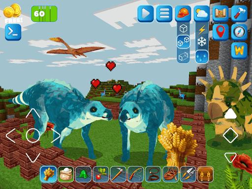 RaptorCraft 3D: Survival Craft u25ba Dangerous Worlds 5.0.4 screenshots 12