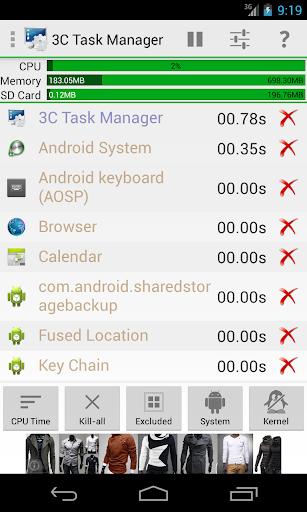 3C Task Manager screenshot 3
