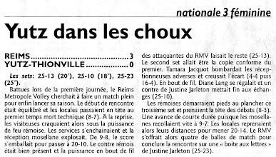 Photo: 10-10-2010 Reims - ASVB 3-0