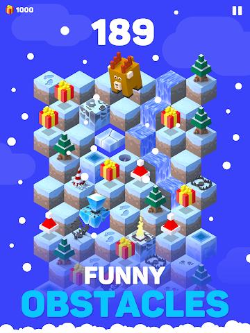 android Ice Hill: Endless Xmas Fun Screenshot 4