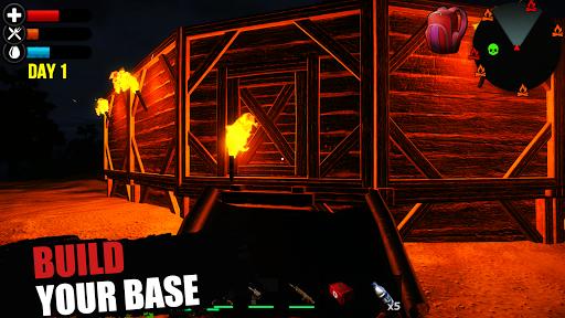 Just Survive: Raft Survival Island Simulator  captures d'u00e9cran 2