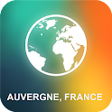 Auvergne, France Offline Map icon