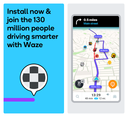 Waze - GPS, Maps, Traffic Alerts & Live Navigation 4.66.0.1 Screenshots 7