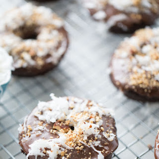 Almond Joy Chocolate Donuts