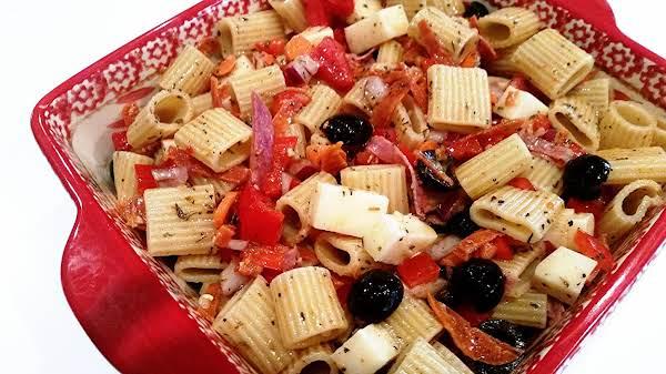 ~ Italian Rigatoni Salad ~ Recipe