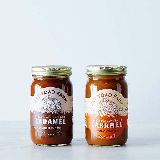 Salted Bourbon & Vermont Maple Goat's Milk Caramel Sauce (2-Pack)