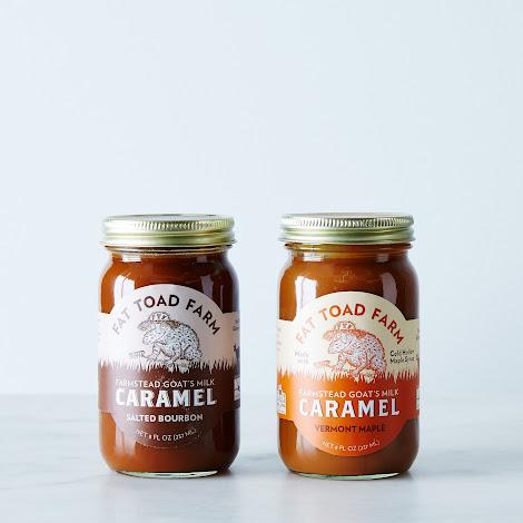 Salted Bourbon & Vermont Maple Goat's Milk Caramel Sauce (2-Pack)
