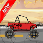 Hill Climb Racing (desert part)