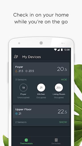ecobee screenshot 1