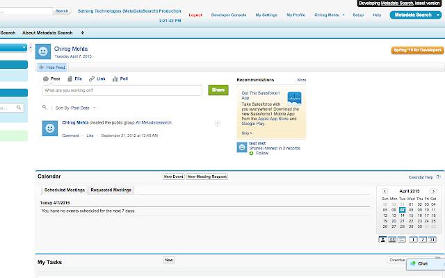 Enhance Salesforce Header