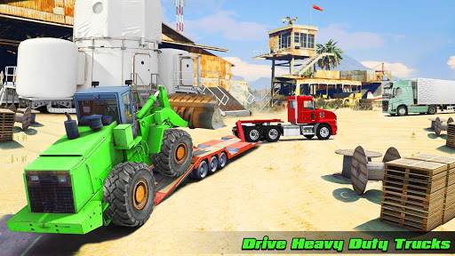 Speedy Truck Driver Simulator: Offroad Transport  screenshots 8