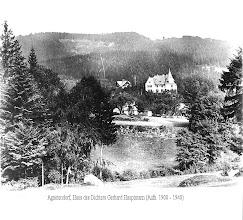 Photo: Agnetendorf, Haus v. Gerh. Hauptmann