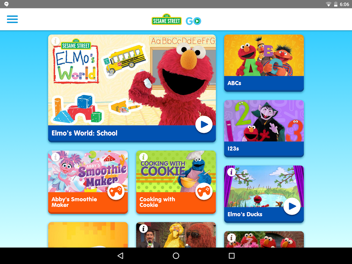 Sesame Street Go Android Apps On Google Play