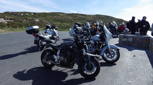 Voyage moto en Irlande