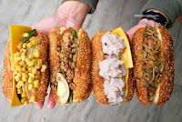 茶奶奶手做點心-爆漿甜甜圈 手工營養三明治