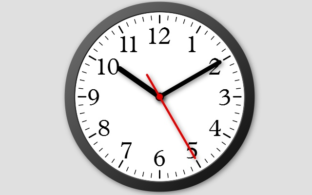 Modern Clock CE 7 Chrome Web Store