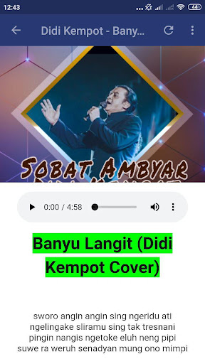 Sobat Ambyar Didi Kempot Mp3 Apk Download Apkpure Ai