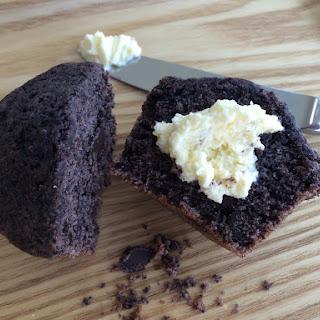 Sweet Purple Corn Chocolate Chunk Muffins