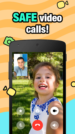JusTalk Kids - Safe Video Chat and Messenger android2mod screenshots 4