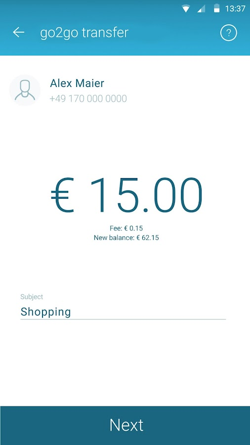 mycard2go Prepaid Visa Card- screenshot