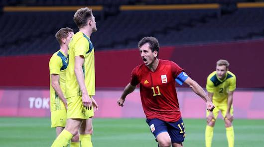 Oyarzabal acerca a España a los cuartos de final