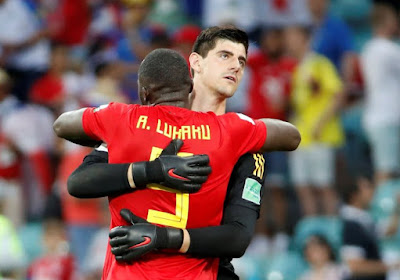 📷 Lukaku et Courtois se chauffent avant leur duel en Ligue des champions