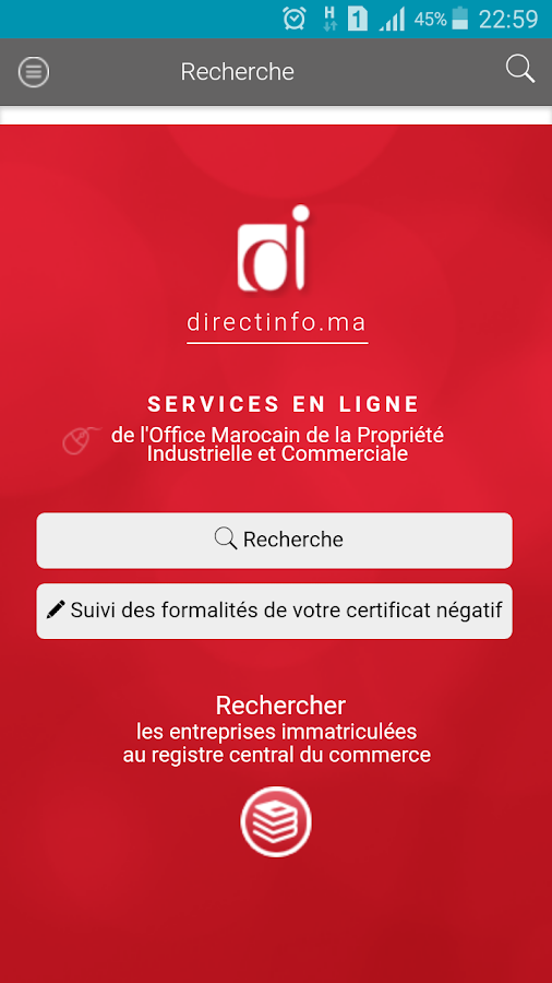 Directinfo Entreprises- screenshot