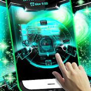 3D Locker Technology Theme