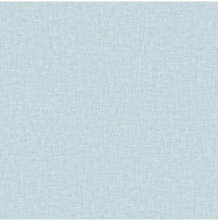 Fantasia Tapet med linnekänsla Ljusblå Vintage Blue