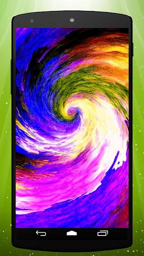 Color Swirl Live Wallpaper