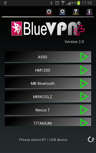 BlueVPN+  screenshots 1