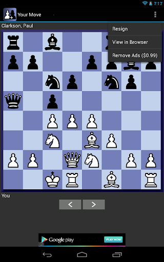Your Move Correspondence Chess 1.4.10 screenshots 5