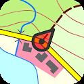 Topo GPS Germany icon