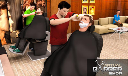 Virtual Barber Shop Hair Salon Beard Shave Games 1.0.5 screenshots 2