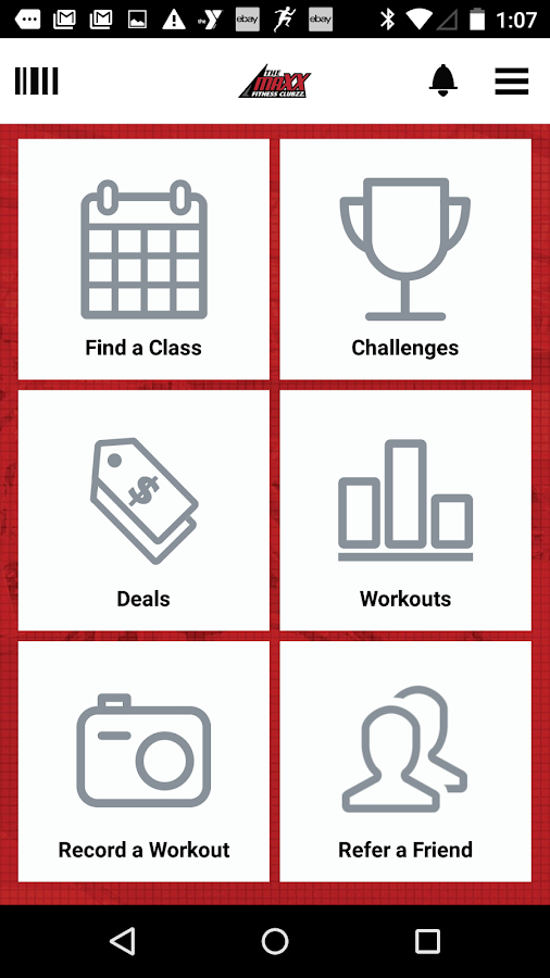 Maxx Fitness Clubzz- screenshot