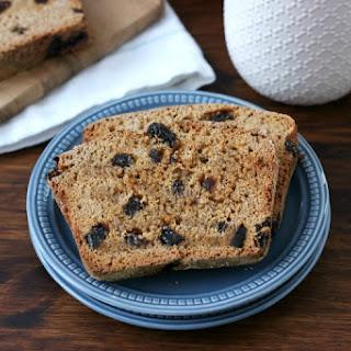 Cinnamon Raisin Honey Wheat English Muffin Bread.