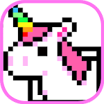 Pixel Art Coloring Book - Number Coloring Style Icon