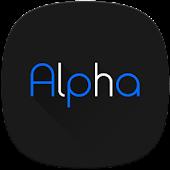 Tải Alpha Substratum Theme For LG V30 APK