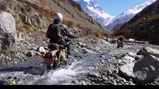 le Népal à moto