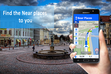 Voice GPS Navigation & Traffic Directions - náhled