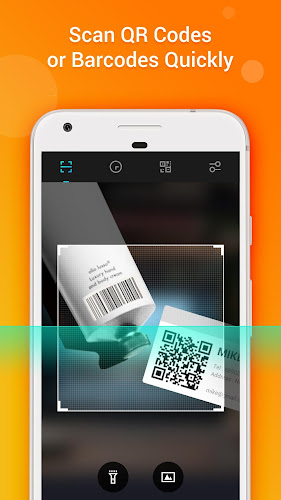 QR Code Reader-Barcode Scanner & QR Code Scanner Android App Screenshot