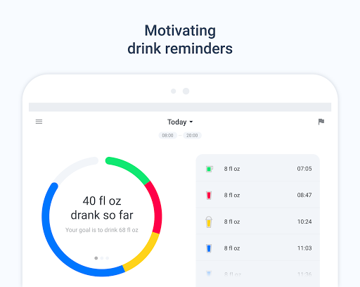 Hydro Coach - Water Drink Reminder & Water Tracker 4.0.58 screenshots 8