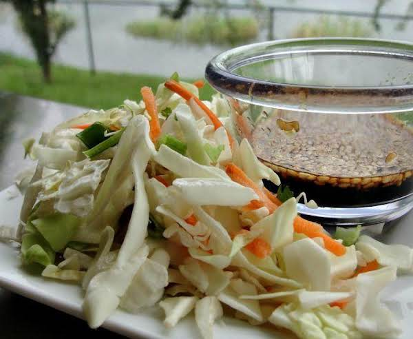 Asian Slaw With Ponzu Dressing Recipe