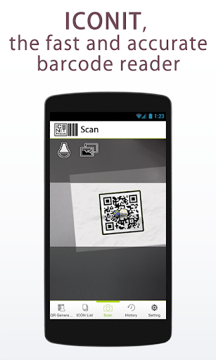 QRcode-BarcodeReader ICONIT