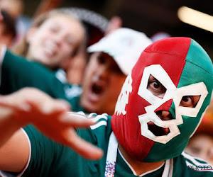 ? Heerlijke beelden: supporters helpen elkaar in Mexico