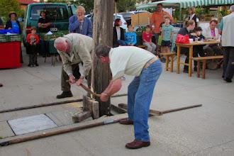 Photo: Bilder rund um den Maibaum - sie tun ihr Bestes.