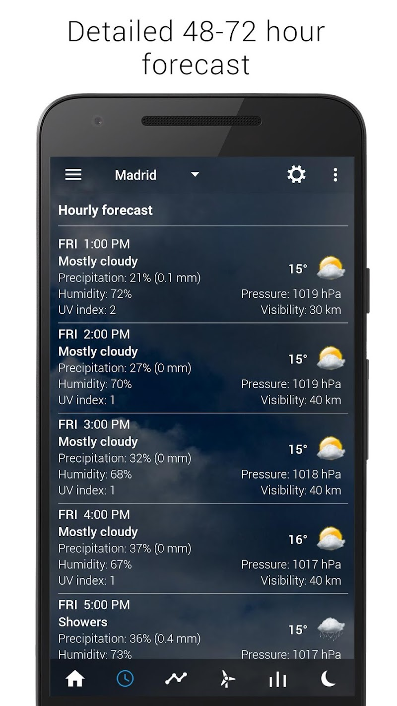 Digital clock & world weather Screenshot 6